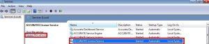 ACCURATE 5 Tidak Terhubung dengan Accurate License Manager