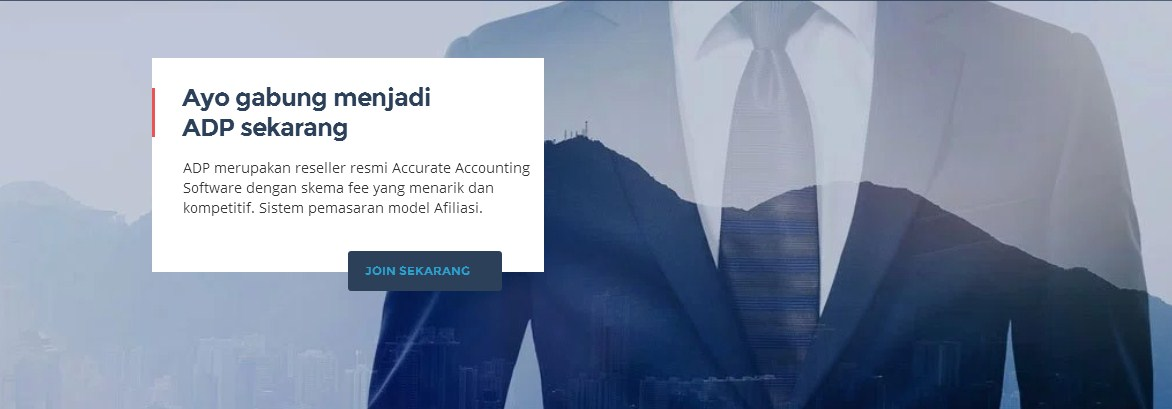 Pendaftaran Reseller Resmi Accurate Accounting Software
