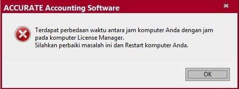 Solusi gagal Registrasi Accurate ver 5