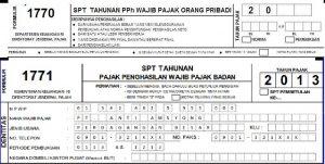 Serba Serbi Surat Pemberitahuan SPT Pajak Indonesia Terbaru