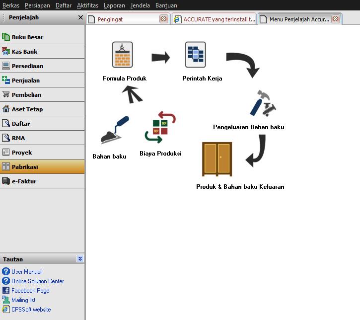 Contoh sistem akuntansi pabrik plastik di Indonesia saat ini