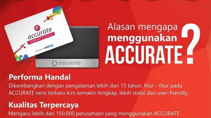 ACCURATE Medan |Penjualan Resmi Software Akuntansi ACCURATE