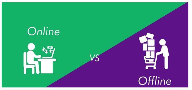 Bisnis Offline vs Online