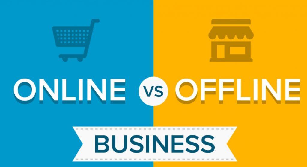 Bisnis Online VS Bisnis Offline Ditengah Masa Transisi