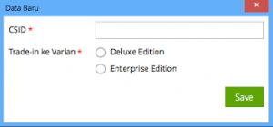 Trade In Pengguna Accurate Versi 5 Standart, Deluxe, Enterprise. Hub: Firdaus 081703354372